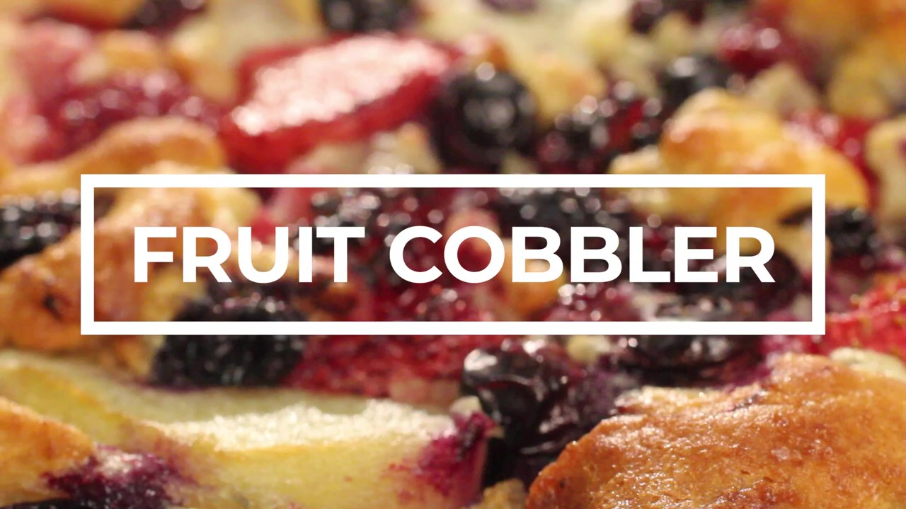 Fruit Cobbler - So easy and sooooo good!_Moment